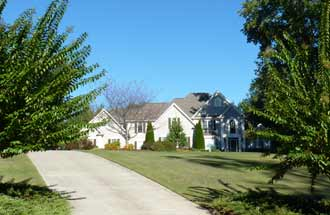 Champions View features many beautiful Atlanta golf homes and is loved by its residents.
